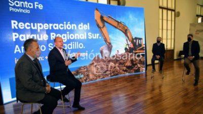 Recuperación del Parque Regional Sur, en Rosario