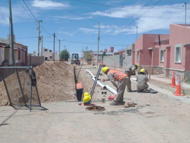 4.500 usuarios de Abra Pampa cuentan con servicio de cloacas