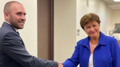 Georgieva afirmó que el FMI trabaja con la Argentina en un acuerdo «creíble y útil»