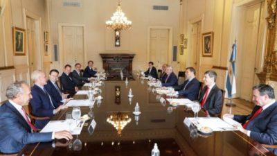 El Presidente, cara a cara con los «dueños»