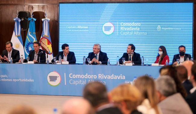 """Alberto Fernández en Comodoro Rivadavia: """"Hubo cuatro años de postergaciones en Argentina"""""""