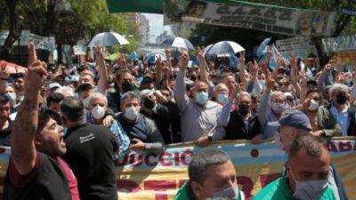 Día de la Lealtad: una multitud en el acto convocado por la CGT