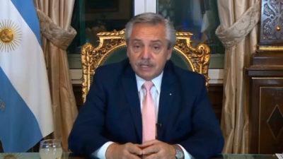 Alberto Fernández llamó a «repensar» la deuda de los países de ingresos medios como la Argentina