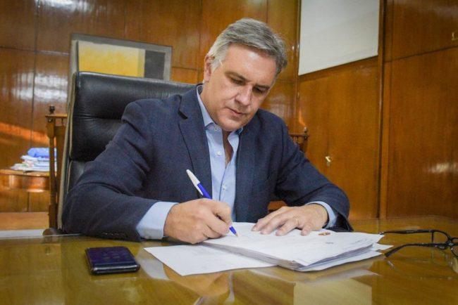 El intendente de Córdoba promulgó la ordenanza que crea el Ente Municipal Córdoba CORACE