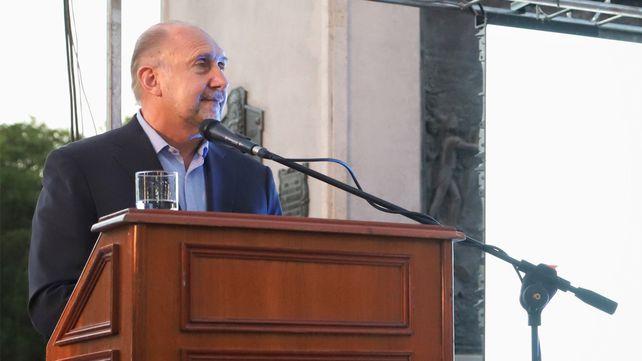 """Perotti: """"Fui intendente y formé una guardia urbana, creo que es un paso a dar y discutir"""""""