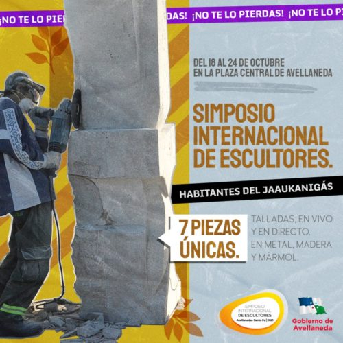 Avellaneda se prepara para disfrutar del arte con el 3er Simposio Internacional de Escultores